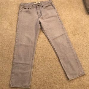 Gray lee jeans 32x30
